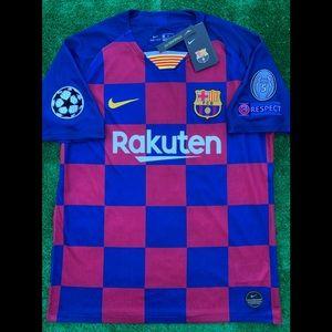 2019/20 FC Barcelona soccer jersey Nike Messi FCB